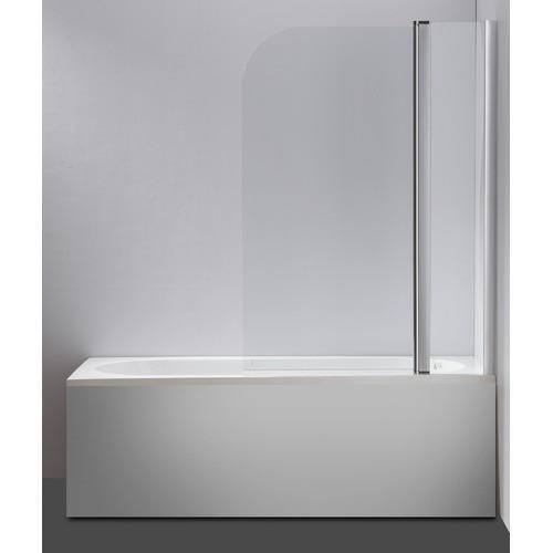 Essential Home Supply 180 Degree Pivot Bathroom Door Shower Screen