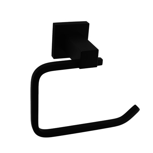 Essential Home Supply Matte Black Classic Toilet Paper Holder