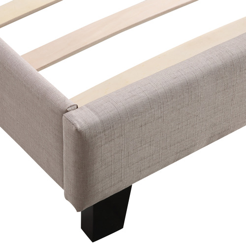Essential Home Supply Barocca Upholstered Double Bed Frame