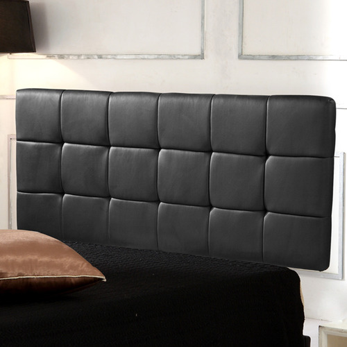 Essential Home Supply Barocca Faux Leather Queen Bedhead
