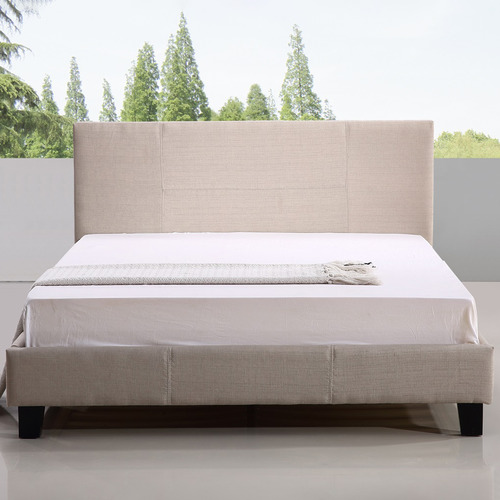 Essential Home Supply Barocca Upholstered Queen Bed Frame