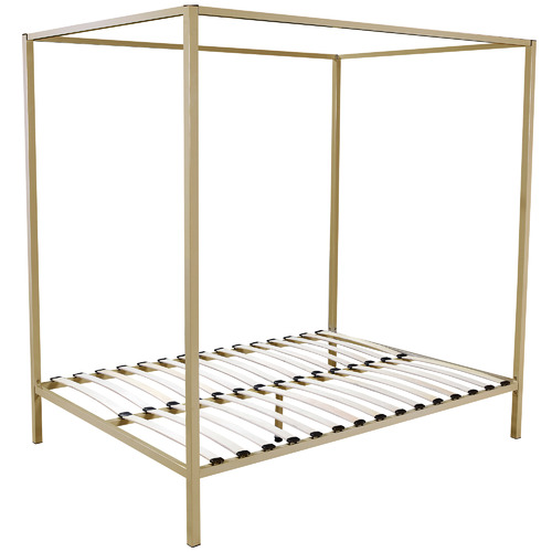 Essential Home Supply Jules 4 Poster Queen Bed Frame