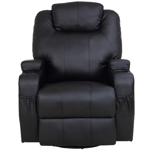 Essential Home Supply Malandi Heated Faux Leather Recliner Chair