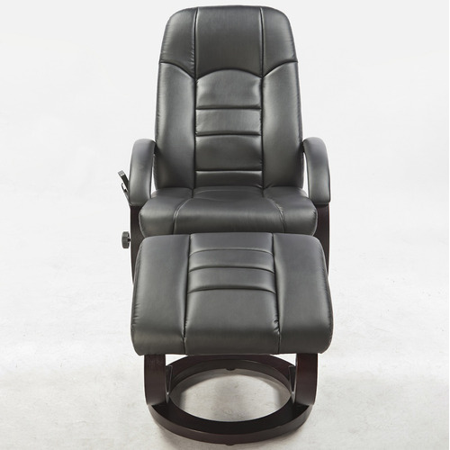 Essential Home Supply Malandi Faux Leather Massage Chair with Ottoman