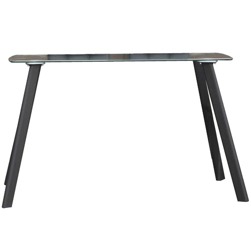 Homestar Jolly Glass & Metal Dining Table