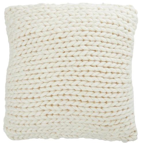 Tabitha Wool-Blend Cushion
