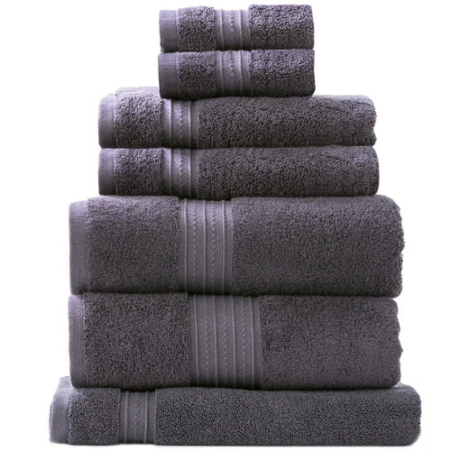 Renee Taylor 7 Piece Brentwood Cotton Bathroom Towel Set