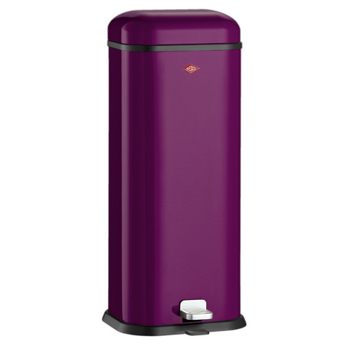 Wesco super boy waste bin reviews temple webster for Purple bathroom bin