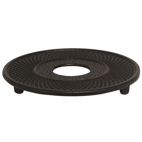 Nova Star Black Cast Iron Footed Trivet
