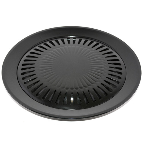 Nova Star Round Carbon Steel Barbecue Grill Pan