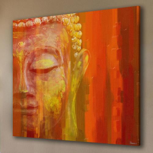 Parvez taj buddha canvas wall art
