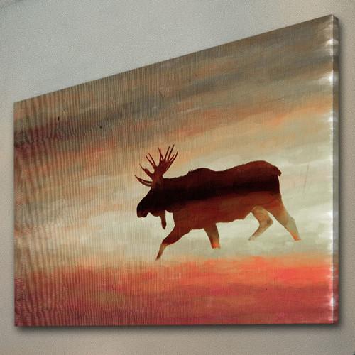 Moose Head Canvas Wall Art Temple Amp Webster