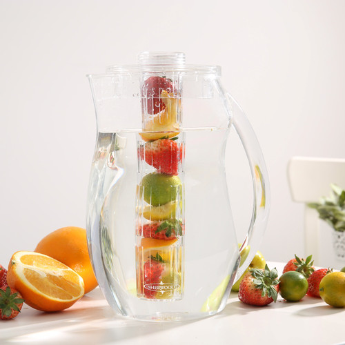 Sherwood Housewares Fruit And Ice Infusion Pitcher