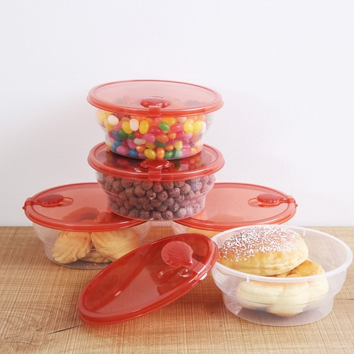 Sherwood Housewares 10 Piece All Purpose Food Container Set