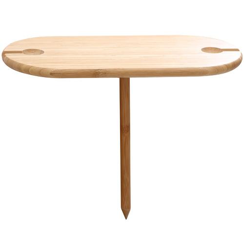 Sherwood Bamboo Outdoor Wine Table
