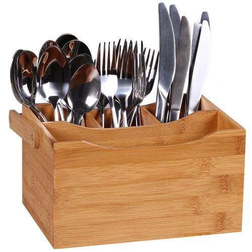 Sherwood Bamboo Cutlery Caddy
