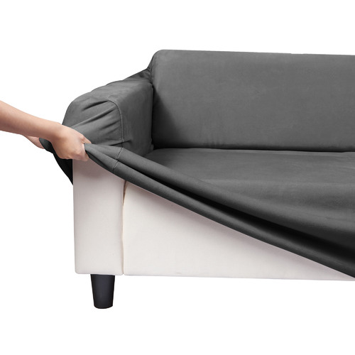 Sensational Stretch Premium Faux Suede Sofa Cover Caraccident5 Cool Chair Designs And Ideas Caraccident5Info