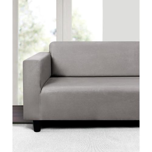 Sherwood Housewares Stretch Premium Faux Suede Sofa Cover