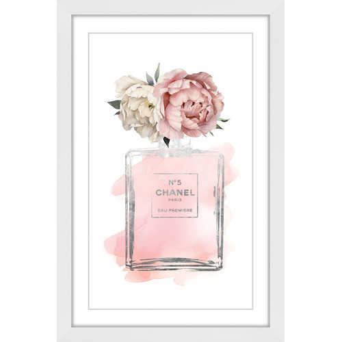 Marmont HIll Floral Peony Wall Art
