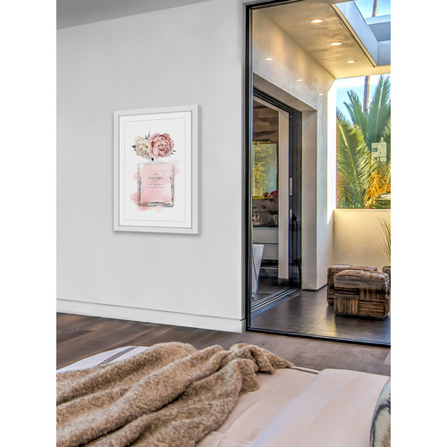 Peony Wall Art floral peony wall art | temple & webster