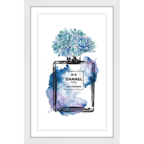 Marmont HIll Flower Blue Wall Art