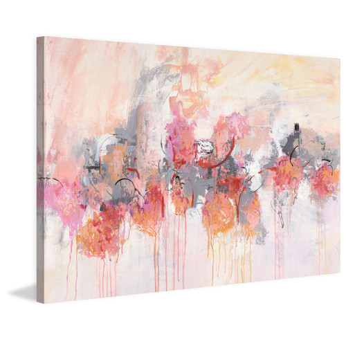 Marmont HIll Petal Patch II Canvas Wall Art