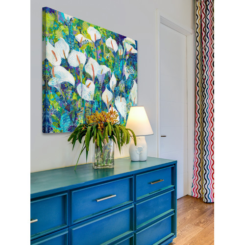 Marmont HIll Morning Blues Wrapped Canvas Painting Print