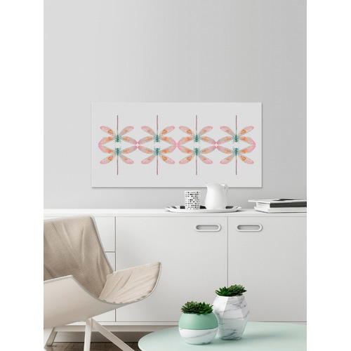 Marmont HIll Kissing Dragonflies Canvas Wall Art