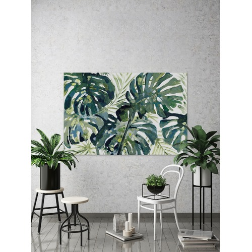 Marmont HIll Green Leaf III Canvas Wall Art