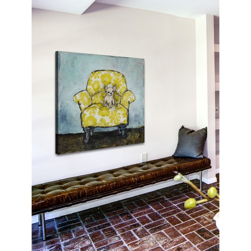 Marmont HIll Dog Allowed In Art Print on Canvas