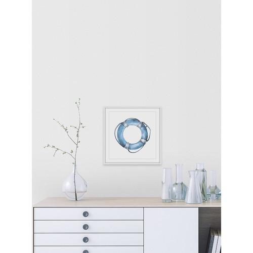 Marmont HIll Blue Floater Framed Print