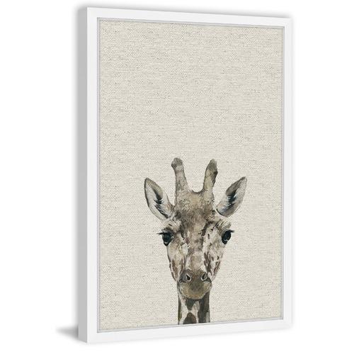 Cheeky Giraffe II Framed Print