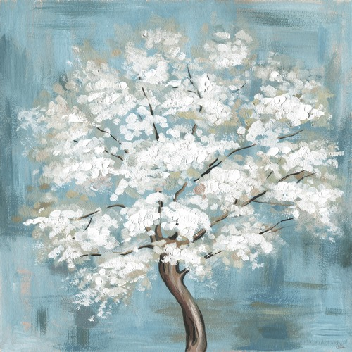 Marmont HIll Callery Pear Blossoms Canvas Wall Art