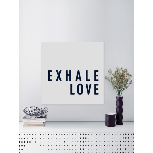 Marmont HIll Exhale Love Canvas Wall Art