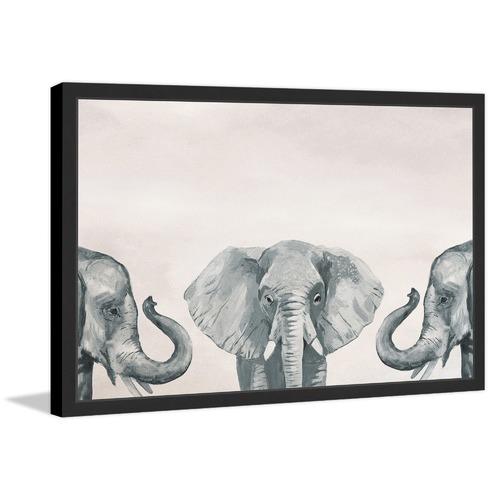 Elephant Poses II Framed Print | Temple & Webster