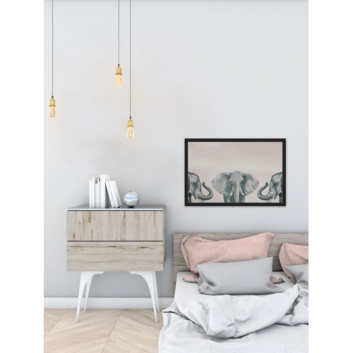 Marmont HIll Elephant Poses II Framed Print