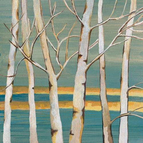 Marmont HIll Winter Bark Canvas Wall Art