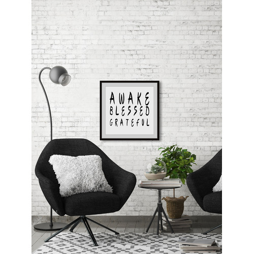 Marmont HIll Awake Blessed Grateful Framed Printed Wall Art