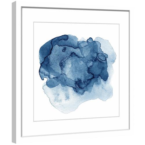 Ephemeral Liquid Framed Printed Wall Art