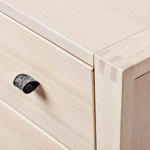 Leander Linea Natural 3 Drawer Dresser