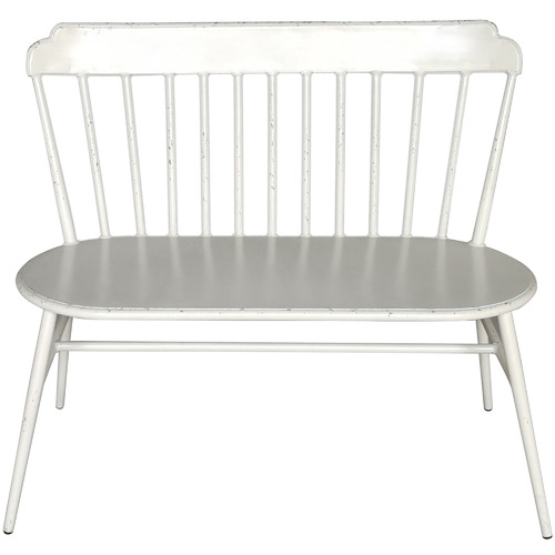 Oggetti Windsor 2 Seater Metal Outdoor Bench
