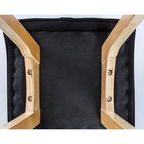 Trinity 65cm White Ivana Faux Leather Barstools