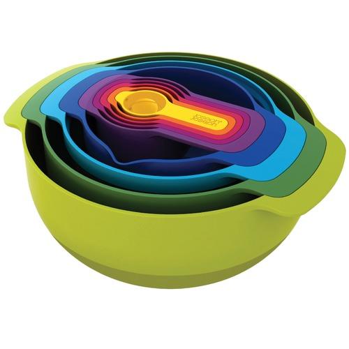 Joseph Joseph 9 Piece Nest Plus Mixing Bowl & Measuring Set
