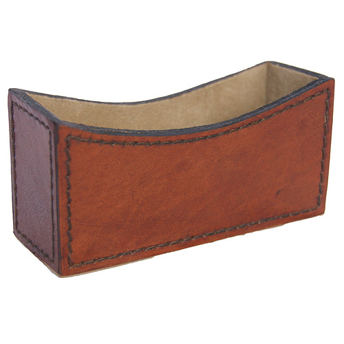 Kundra Tan Leather Card Holder