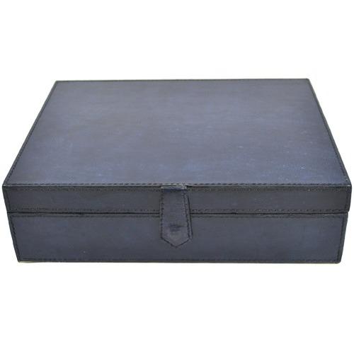 Kundra Medium Leather Jewellery Box