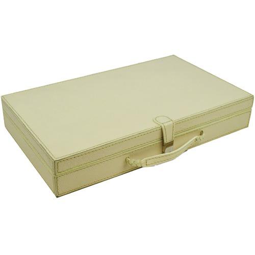 Kundra Leather Cufflink Box
