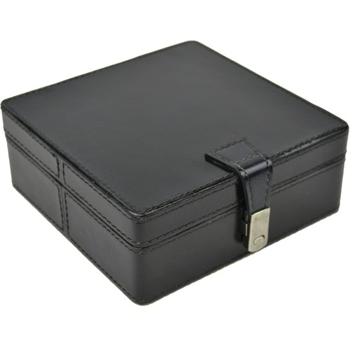 Kundra Leather Square Jewellery Box