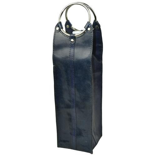 Kundra Mondavi Leather Single Wine Carrier