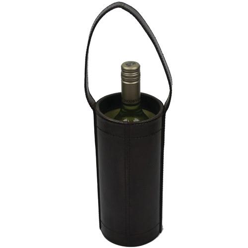 Kundra Lafite Leather Single Wine Carrier