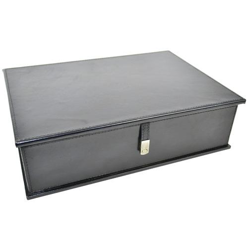 Kundra Pancho Leather Document Box